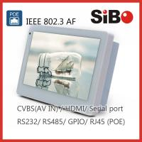 Buy cheap 7 Home Automation Wall Mount Tablet PC With POE Inwall Mount Bracket Iridium Certified from wholesalers