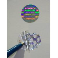 Buy cheap Gold Warranty Void Labels / Security Hologram Stickers Solid 3d Image from wholesalers