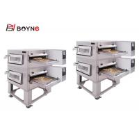 Buy cheap Restaurant Commercial Pizza Oven Stainless Steel Two Deck Electric Convection from wholesalers