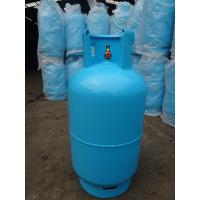 Buy cheap 11kg Refilled Steel LP Gas Cylinder , Libya Lpg Tanks With Valve from wholesalers