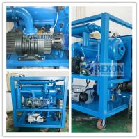 Buy cheap Fully Enclosed Type Online Working Vacuum Dielectric Oil Filtration Machine with Big Capacity from wholesalers
