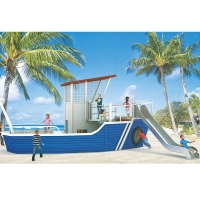 Buy cheap Pirate Ship Playground Set For Sale - Commercial Playground Equipment Manufacturer from wholesalers