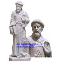 """Wholesale Marble statue-St. Francis -  70"""" Tall from china suppliers"""
