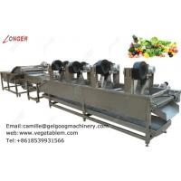 China Commercial efficient fruit and vegetable washing and drying machine for sale on sale