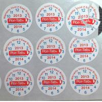 Wholesale Special Broken Ultra Tamper Proof Stickers , Irremovable Security Seal Stickers from china suppliers