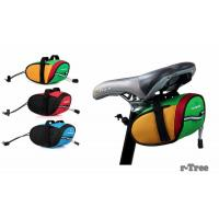 Buy cheap Outdoor Cycling Mountain Bike Bicycle Saddle Bag Back Seat Tail Pouch Package Black/Green from wholesalers