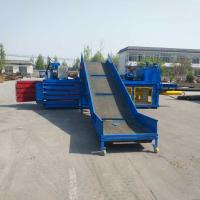 Wholesale Mini Small baler scrap plastic/waste paper/cardboard compactor baler machinery hydraulic baler from china suppliers