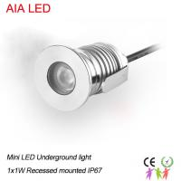 Buy cheap 1W IP67 modern LED underground lamps&LED inground light/LED Buried lamps from wholesalers