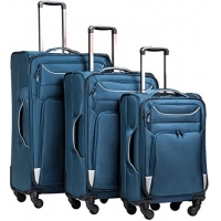 Wholesale Spinner Softshell Lightweight 3 Piece Trolley Luggage from china suppliers