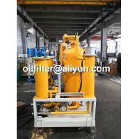 Buy cheap TYA Lubricant Oil Filtration Machine,lube oil filtering equipment,Gearbox oil filtration device,aged lube oil purifier from wholesalers