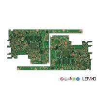 Buy cheap 6 Layer FR4 Printed Circuit Board With Green Solder OSP OEM / ODM Available from wholesalers