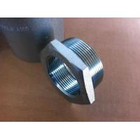 Buy cheap UNS N08020 Nickel Alloy Pipe Fittings Bushing Flush / Hex 1 / 4'' - 4'' Size from wholesalers