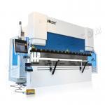 Buy cheap WE67K bending press brake machine CNC hydraulic sheet metal Delem DA66T Controller press brake from wholesalers