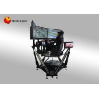 Buy cheap Entertainment Equipment Car Racing Simulator Online Play 3㎡ Space from wholesalers