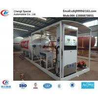 Buy cheap hot sale!30M3 mobile skid lpg gas station for filling cars, wholesale price skid lpg gas station with auto lpg dispenser from wholesalers