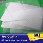 Buy cheap PLASTIC LENTICULAR 75lpi 0.45mm 3D lenticular lens sheets lenticular film sheet PET Lenticular Sheet for offset printer from wholesalers
