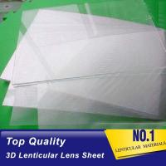 Buy cheap PLASTIC LENTICULAR UV Curing Process 100LPI Resin PET Lens Plastic Flip 3D Lenticular Sheet 0.35mm 0.6mm lenticular film from wholesalers