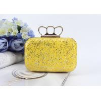 Buy cheap Fashion product ladies mini handbags pu glitter leather clutch bags evening bag product