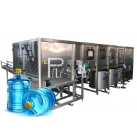 Buy cheap Drinkable Water SUS304 Mineral Water Bottling Machine from wholesalers