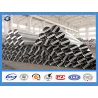 Wholesale Q345 Material 35FT 3mm Thick Hot Dip Galvanized Electric Steel Poles from china suppliers