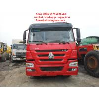 Buy cheap Red 30 Tons Tipper Truck 13000 Kg Vehicle Weight Manual Transmission from wholesalers