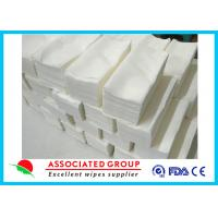 Baby Care Dry Disposable Wipes , Dry Baby Wipes Disposable Mesh Spunlace Nonwoven Manufactures
