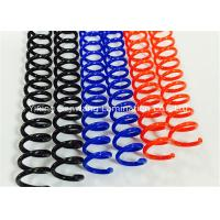 Buy cheap Colorful Plastic Spiral Binding Coils 48 Rings 4 1 Pitch For Office / School from wholesalers