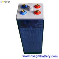 Buy cheap Deep Cycle Flooded Lead Acid Solar Batteries 2V 800ah Opzs Battery from wholesalers