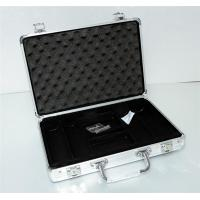 Buy cheap Aluminum casino suitcase carrying case for poker chips from wholesalers