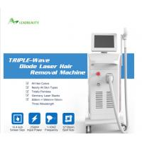 Buy cheap high power 755 808 1064 diode laser hair removal machine for sale from wholesalers