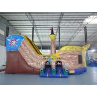 Buy cheap Inflatable pirate boat combo 7x4m inflatable Boat shape  children castle  inflatable from wholesalers