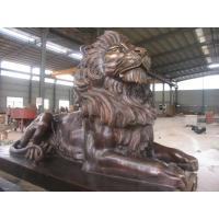 Wholesale Antique imitation Best Copper Lion Sculpture for Outdoor decoration from china suppliers