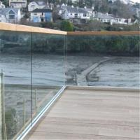 Buy cheap 2018 U channel glass railing baluster deck balusters aluminum from wholesalers