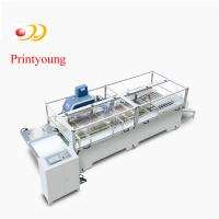 Kraft Semi - Automatic Paper Bag Making Machine / Hand Bag Making Machine By The Roll Manufactures