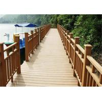 Buy cheap Wood  Plastic Composite Eco-friendly 100% recycle Decking Board from wholesalers