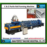 Wholesale C and Z Purlin Roll Forming Machine from china suppliers