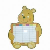 Buy cheap Fridge/Refrigerator Magnet Memo Board, Various Ink Colors are Available from wholesalers