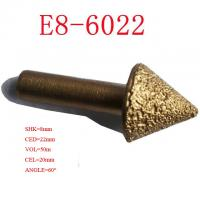 Wholesale End Milling CNC Engraving Tool Bits , Vacuum Brazed Diamond Tools 3D 120 Degree from china suppliers