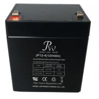 Buy cheap High Reliability 12v 4ah Lead Acid Battery , SLA Rechargeable Battery For UPS from wholesalers