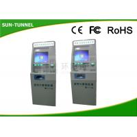 China 17 Infrared Touch Screen Self Service Check In Kiosk Industrial Grade Main Board on sale