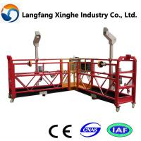 special steel structure platform/ access suspended platform/ powered suspended platform Manufactures