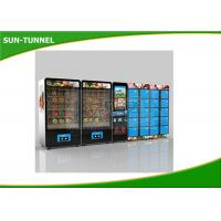 Chicken And Beef Fast Fresh Food Vending Machine CE Certification Manufactures