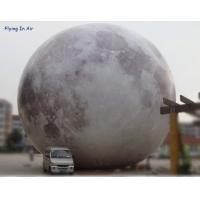 Ball-10 Printing Cloth Inflatable Light Moon For Party And Advertisement Decoration Manufactures