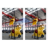 Wholesale JZR350 Diesel Concrete Mixer Machine With Hydraulic Lift Ladder from china suppliers