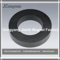 Buy cheap 100X60X20,Ceramic Magnets C8,  Hard Ferrite ring Magnets y30BH from wholesalers