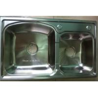 Wholesale SUS304 simple kitchen designs modular  Stainless Steel  Kitchen Sink WY-7843D from china suppliers