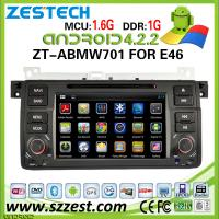 "Buy cheap ZESTECH 7"" turkish language car dvd accesories For BMW E46 accessories with radio DVD MP3 Player gps navigation from wholesalers"