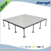 Buy cheap Anti Static Raised Computer Room Floors with Flat Head Pedestal from wholesalers