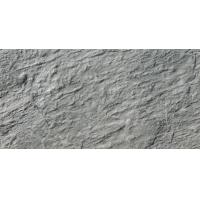 Buy cheap 3D Inkjet Outside  600 X 300 Grey Wall Tiles  Grade aaa Type Mould Stone Design from wholesalers