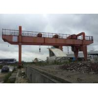 Buy cheap Diesel Powered Container Crane Portable Containers Lifting Gantry Cranes from wholesalers